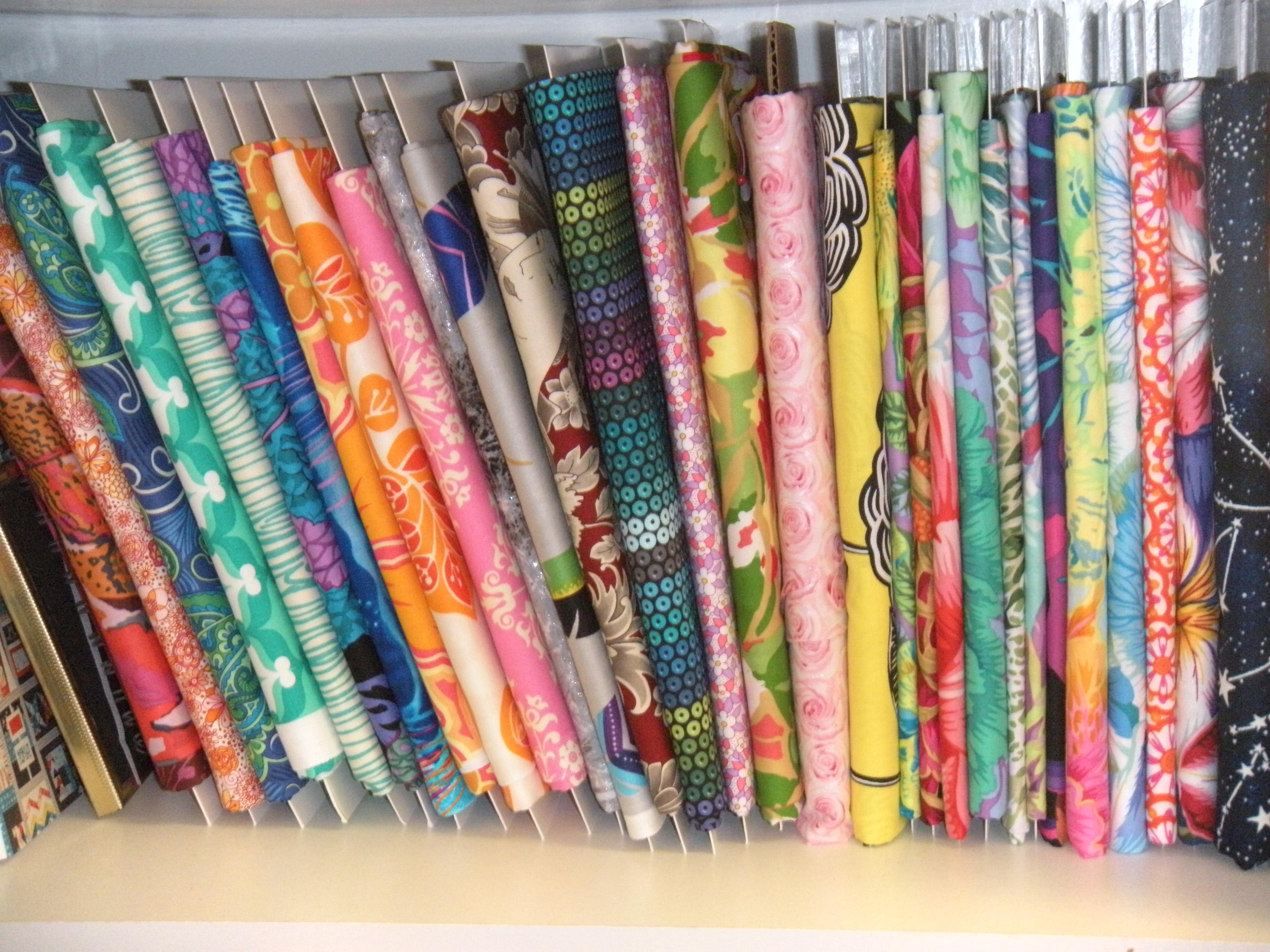 Fabric Storage Handmade By Carole Carr