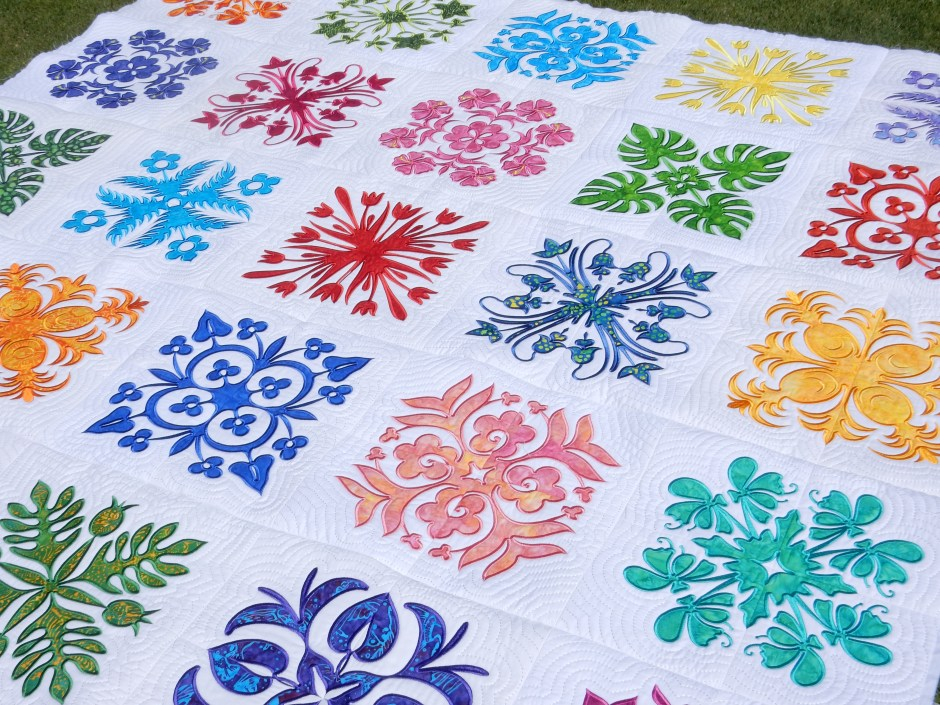 quilts supplies hawaiian all wall company final quilt gift by are hangings limited copied milaskirtbreadfruitredgreen mila inch sales